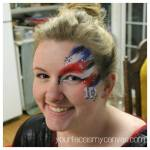 facepainting one direction 1D