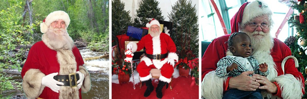 santa claus impersonators available for christmas