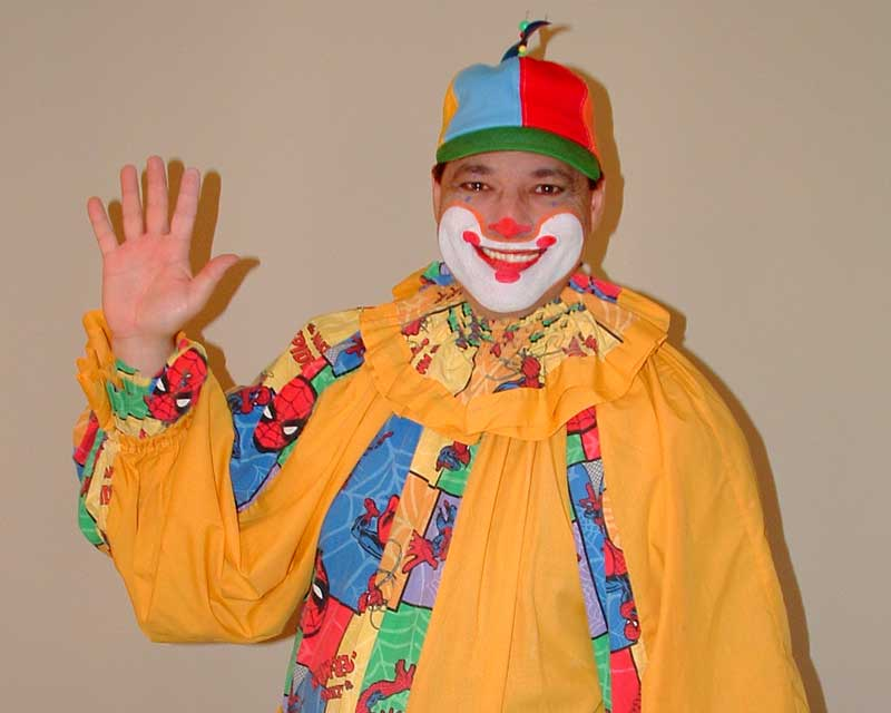 clumsy the clown, family entertainer